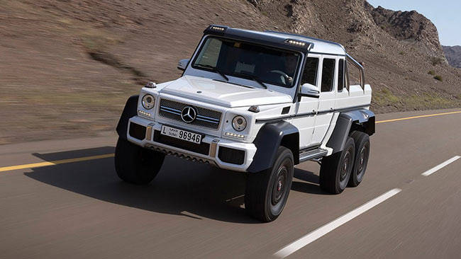 mercedes benz g63 amg 6x6 not for us car news carsguide. Black Bedroom Furniture Sets. Home Design Ideas