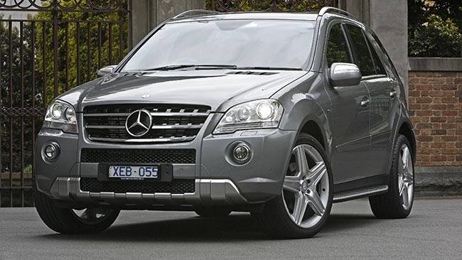 Used mercedes benz ml350 review 2005 2010 carsguide for Mercedes benz ml 350 2008