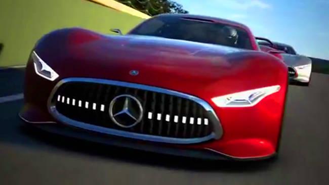 Mercedes amg vision gran turismo design video car news for Mercedes benz amg vision gt price