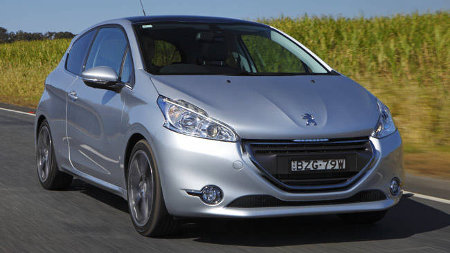 peugeot 208 allure sport 2012 review carsguide. Black Bedroom Furniture Sets. Home Design Ideas