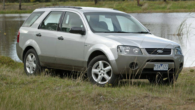 Diagram Used Ford Territory Review 2009