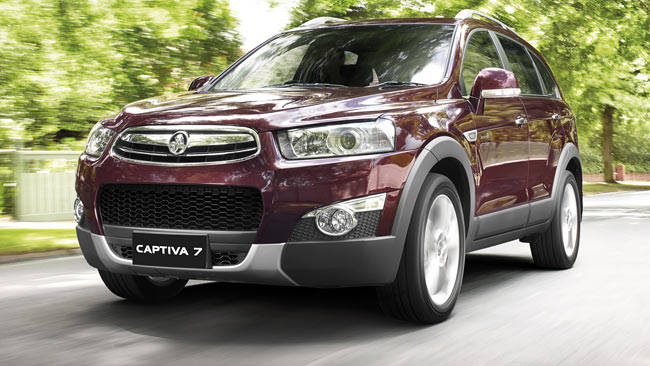 Holden Captiva 2011 Review Carsguide