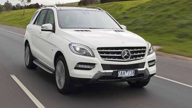 Mercedes benz ml350 2012 review carsguide for Mercedes benz ml350 bluetec price