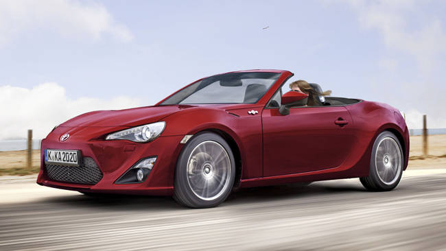 subaru may not get brz convertible car news carsguide. Black Bedroom Furniture Sets. Home Design Ideas