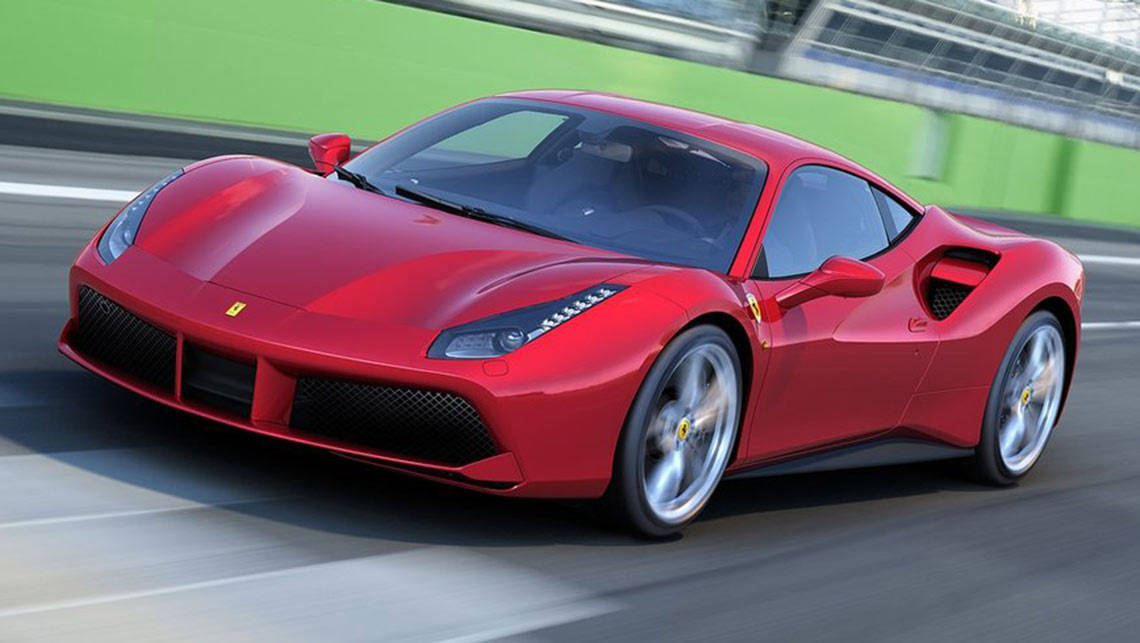 Ferrari 488 GTB order books swell for Australia - Car News ...