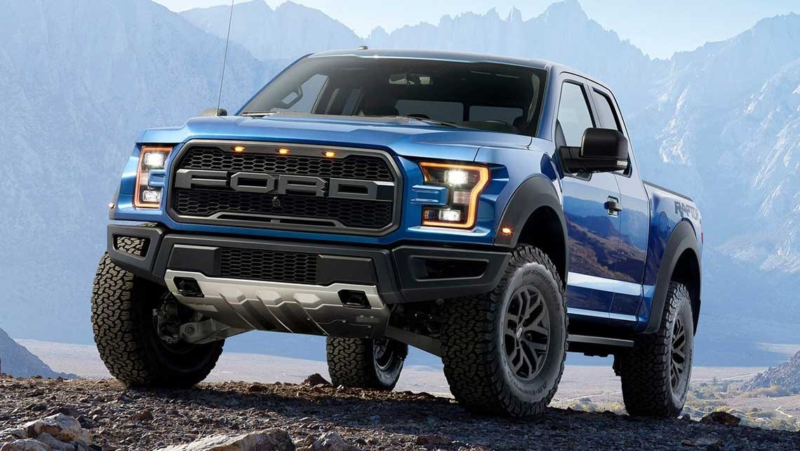 Photo Shows The 2015 Ford F150 Raptor US Model Shown Supplied