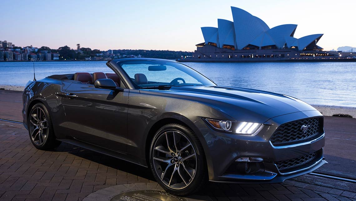 ford opens the order books for the new mustang - car news | carsguide