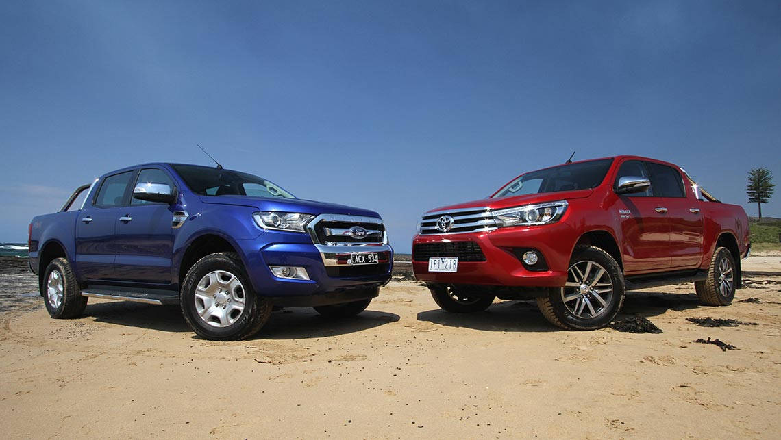 Hilux Heading Into Monster Truck Battle With Ranger Car News