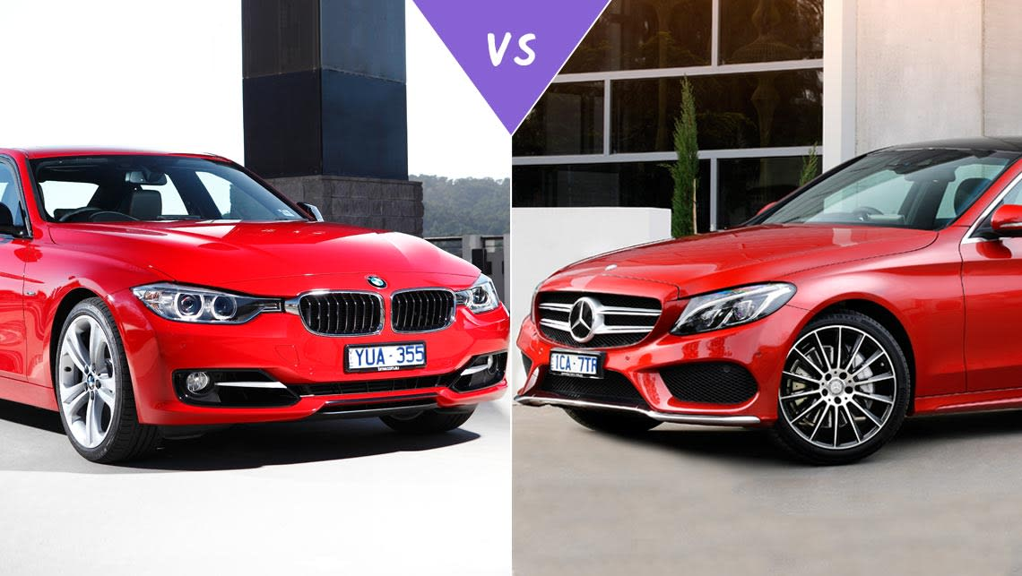 BMW I Vs MercedesBenz C Review CarsGuide - Bmw 328si