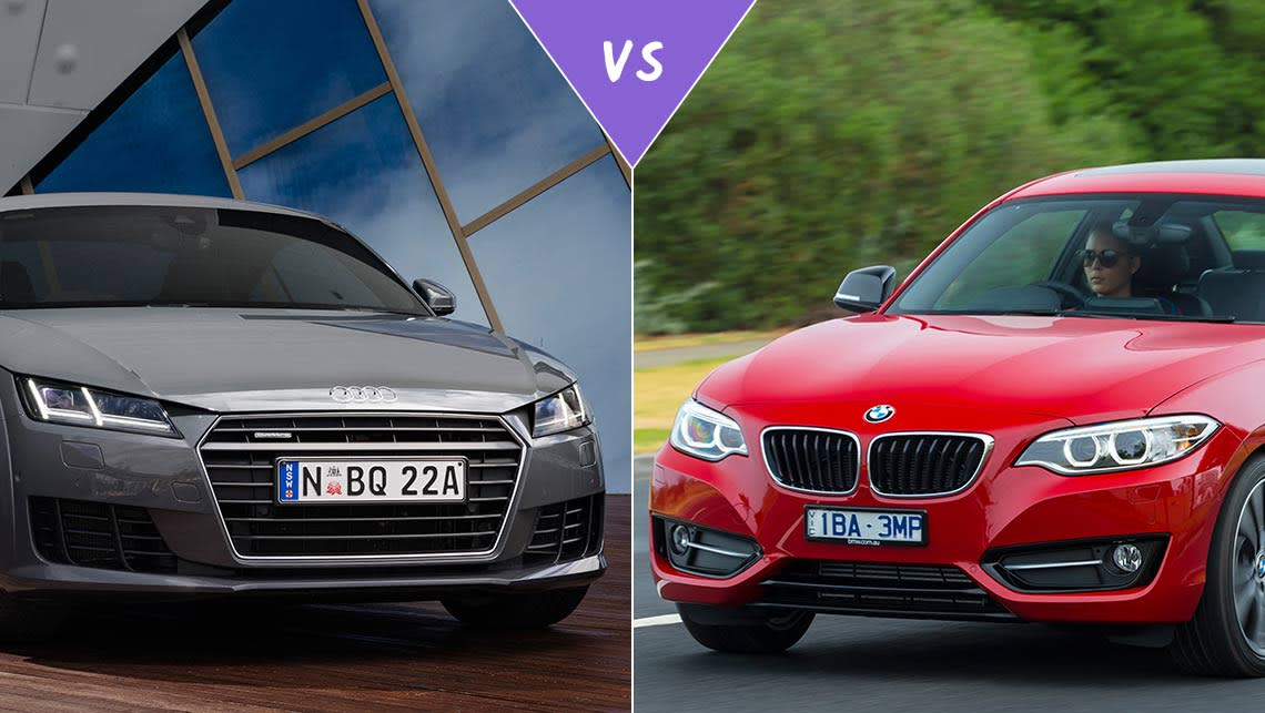 Audi TT Vs BMW I Review CarsGuide - Audi vs bmw