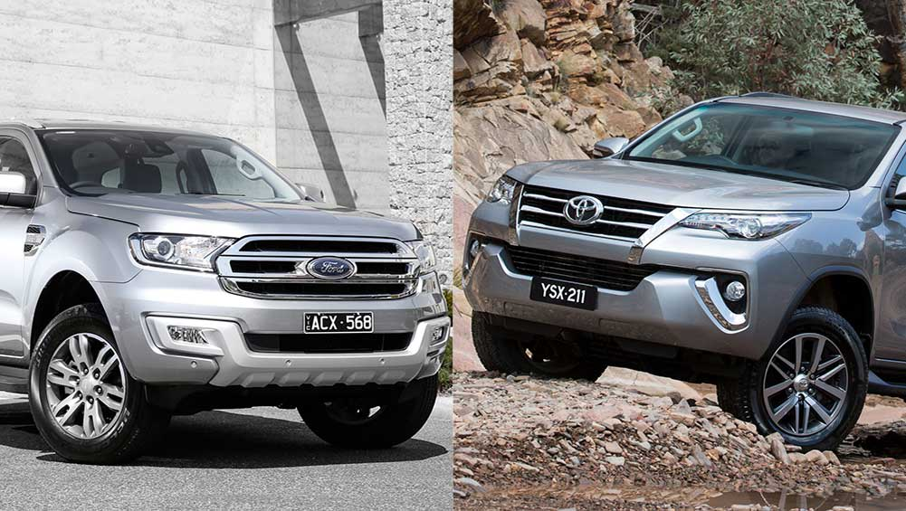 ford everest vs toyota fortuner review