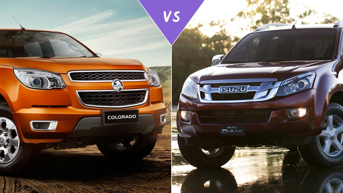 Chevy Colorado Interior >> Holden Colorado vs Isuzu D-Max Review | CarsGuide