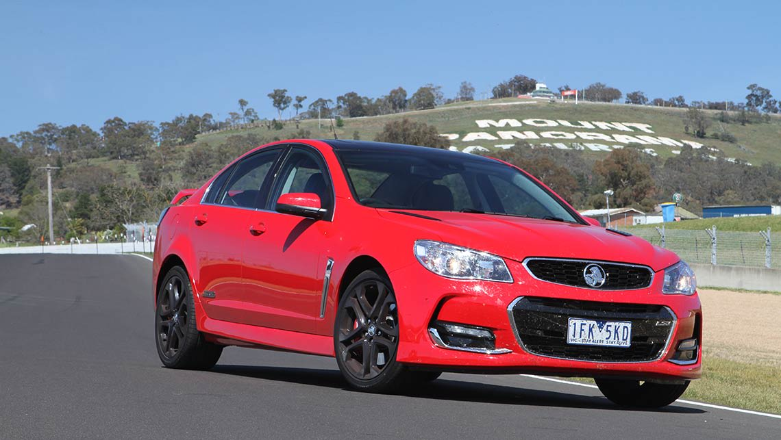 Holden commodore 2015 review carsguide 2015 vf series ii holden commodore ss v redline sedan at mount panorama bathurst photo credit joshua dowling asfbconference2016 Images