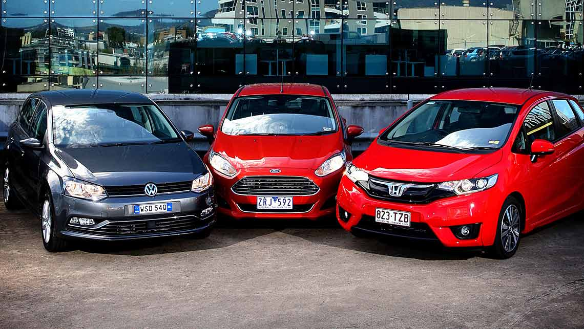 Honda Jazz Volkswagen Polo And Ford Fiesta 2014 Review