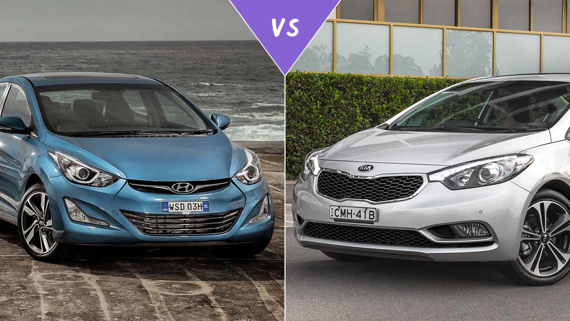 Hyundai elantra premium vs kia cerato sli sedan review for Hyundai kia motor finance