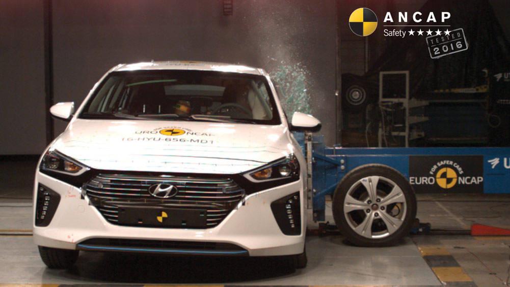 ANCAP Five Stars For Audi A5, Hyundai Ioniq And Volvo S90