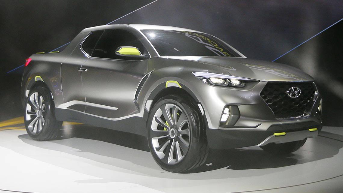 ... Hyundai Santa Cruz Ute Concept