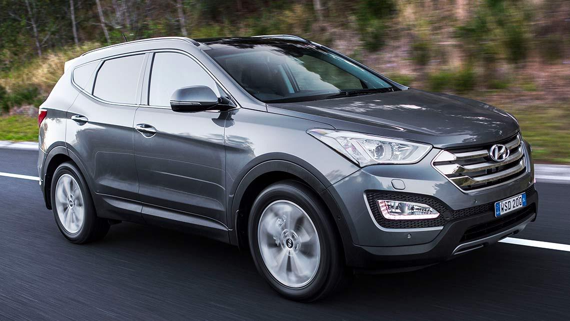 Hyundai santa fe elite 2015
