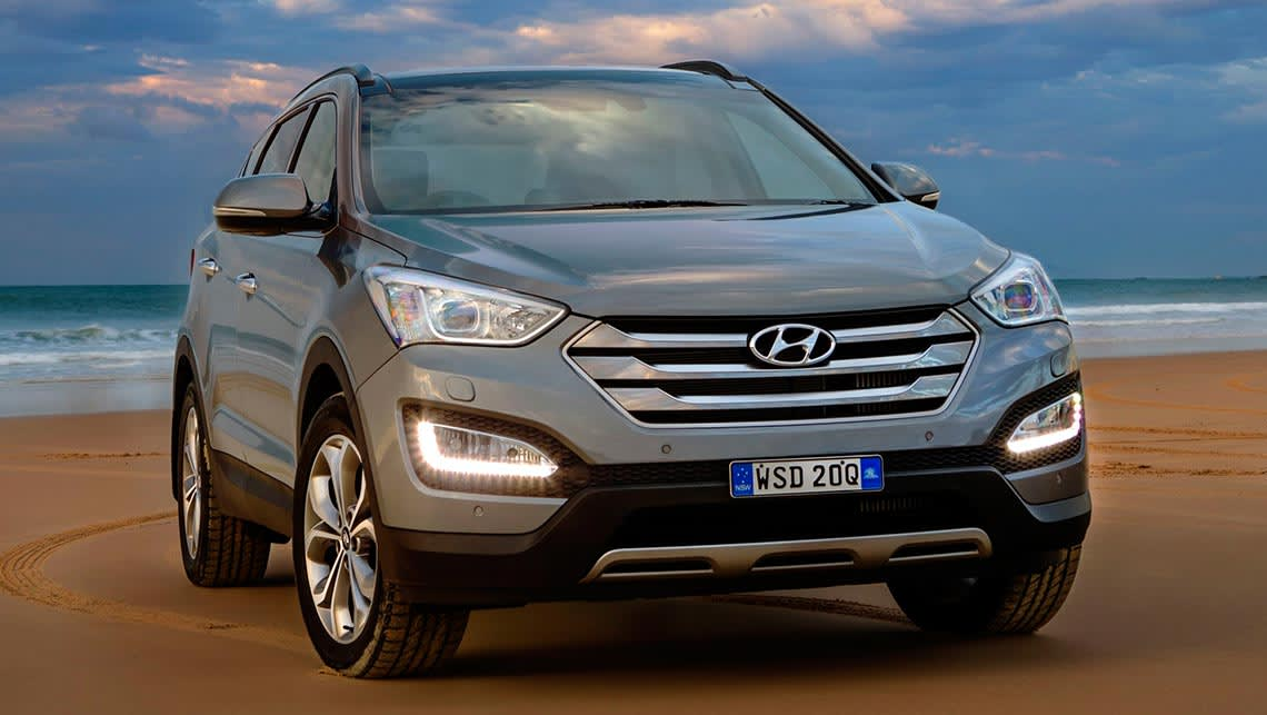 hyundai santa fe 2015 review road test carsguide. Black Bedroom Furniture Sets. Home Design Ideas