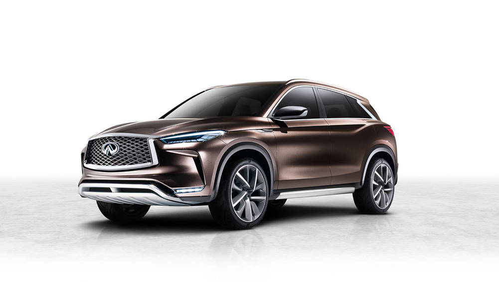 Infiniti QX50 Concept Mid-size SUV Revealed Ahead Of Detroit