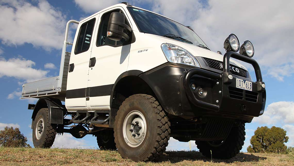 iveco daily 4x4 cab chassis 2015 review carsguide. Black Bedroom Furniture Sets. Home Design Ideas