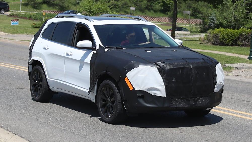 Jeep Cherokee 2018 Spy Shots