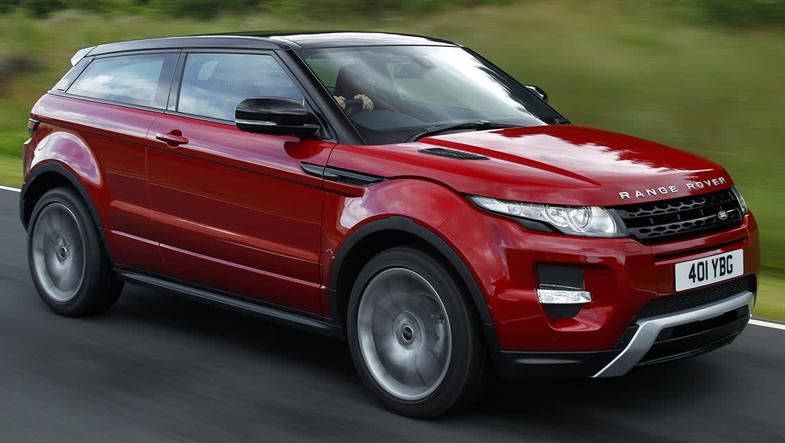 2015 range rover evoque coupe dynamic review road test carsguide. Black Bedroom Furniture Sets. Home Design Ideas