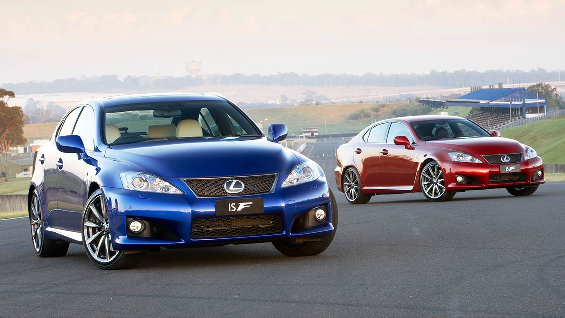 Lexus is f review