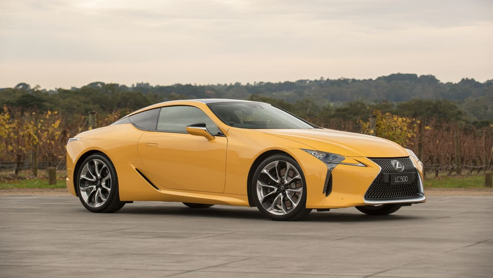Lexus LC 500 And LC 500h 2017 Pricing And Spec Confirmed
