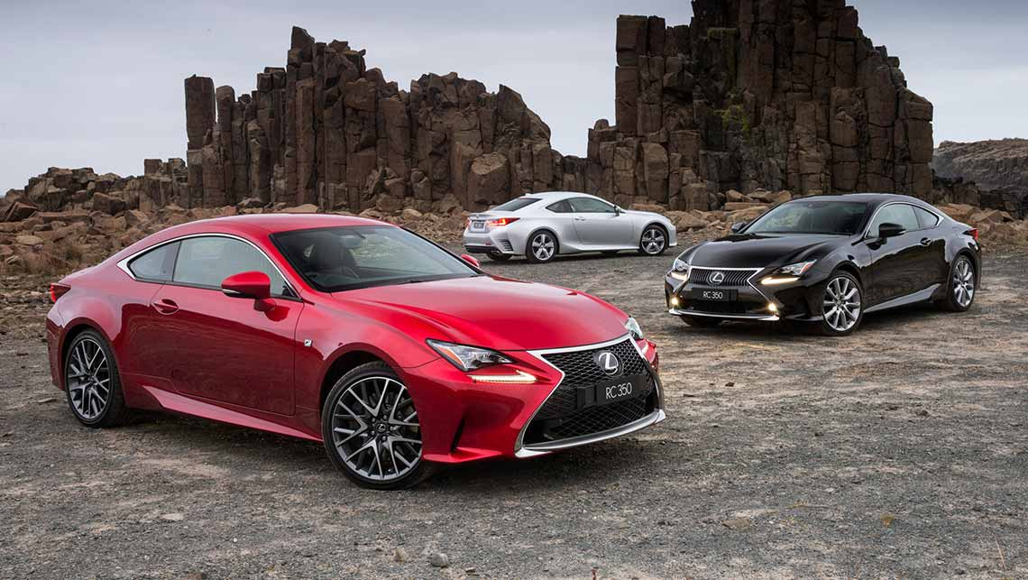 Lovely 2014 Lexus RC 350 Luxury, F Sport And Sports Luxury