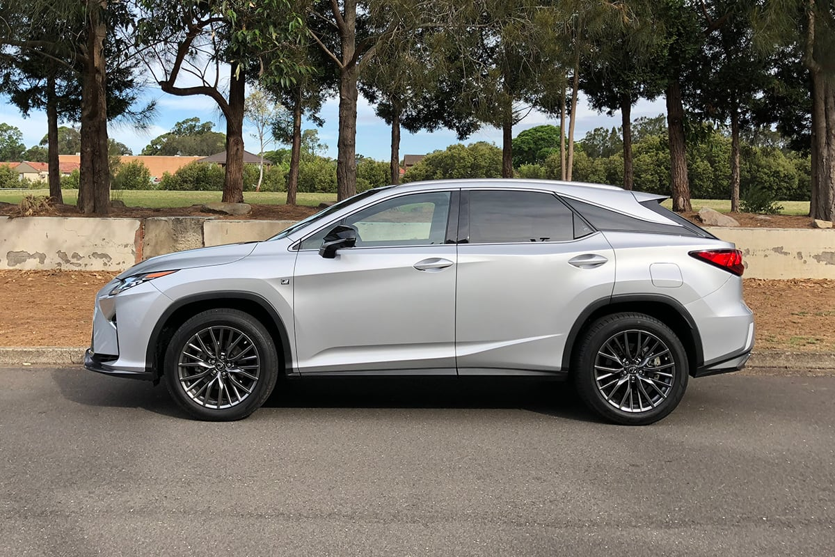 Lexus RX 300 2018 Review Snapshot CarsGuide