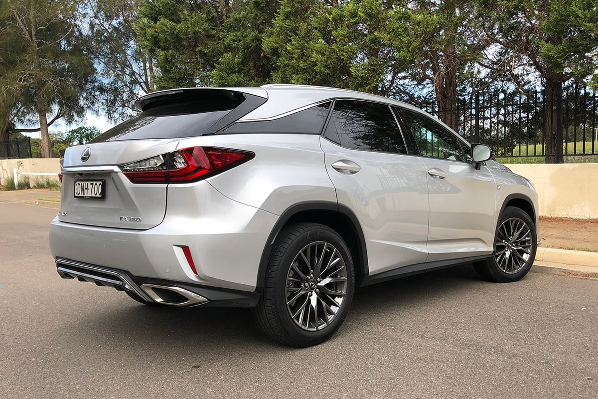 lexus rx 450h 2018 review: snapshot   carsguide
