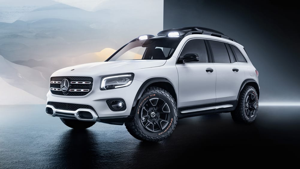 Mercedes fills another SUV niche with Concept GLB