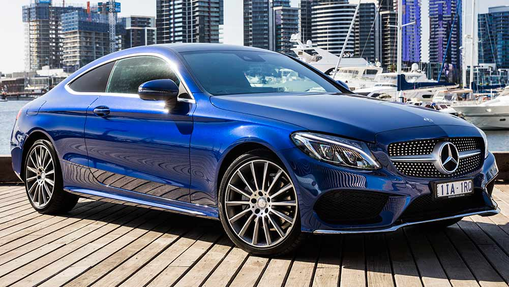 mercedes benz c class c300 coupe 2016 review carsguide. Black Bedroom Furniture Sets. Home Design Ideas