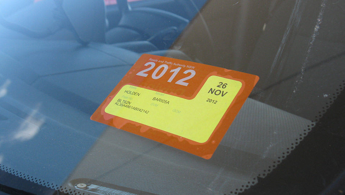 Nsw Rego Fines Nearly Double Since Labels Dropped Car
