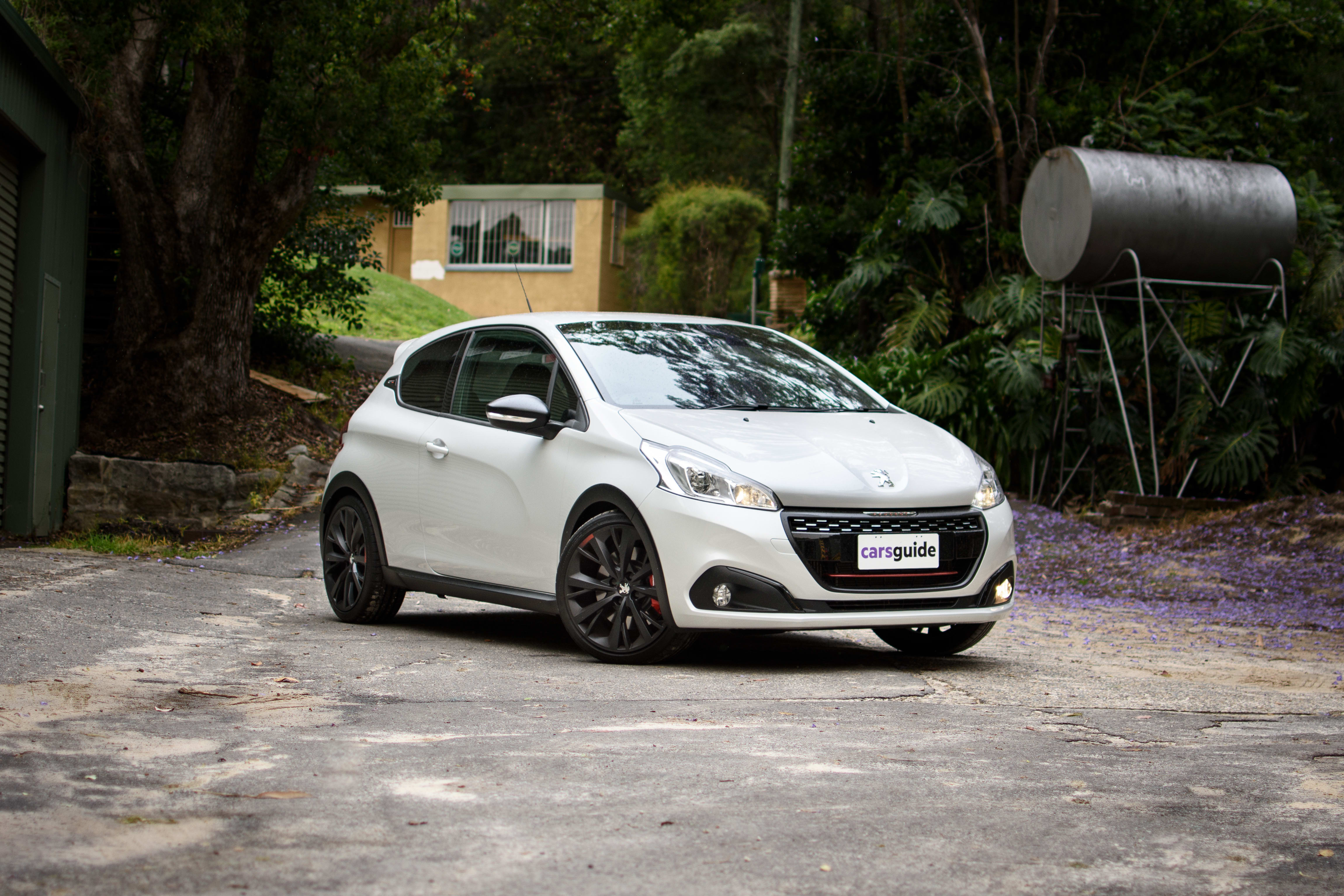 peugeot 208 gti 2019 review edition definitive carsguide. Black Bedroom Furniture Sets. Home Design Ideas