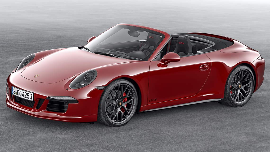 porshe 911 gts cabriolet 2015 review carsguide. Black Bedroom Furniture Sets. Home Design Ideas