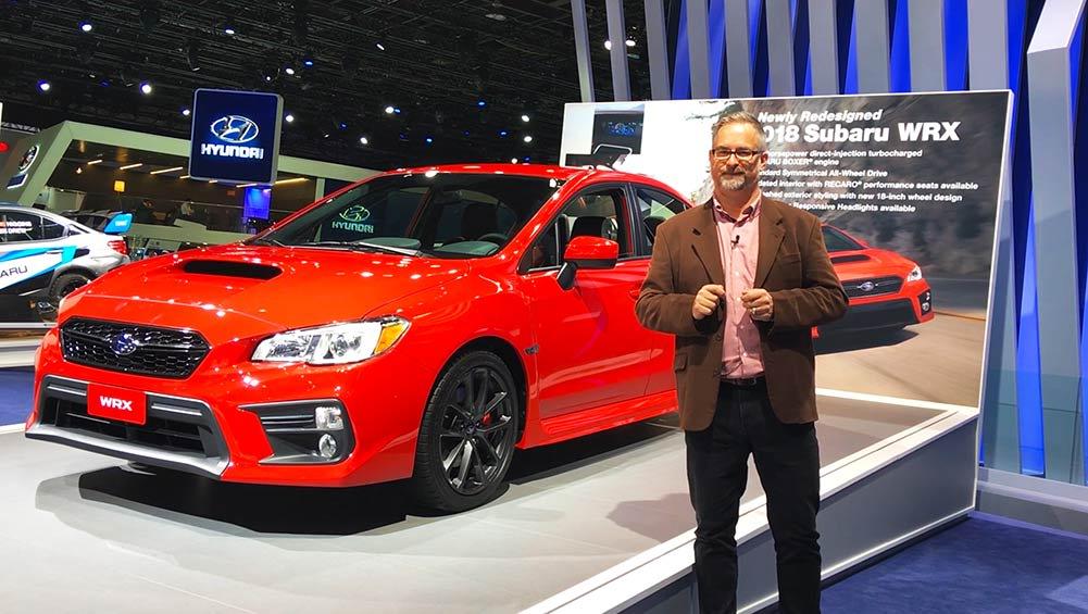 2017 Subaru WRX And STI Revealed | Video