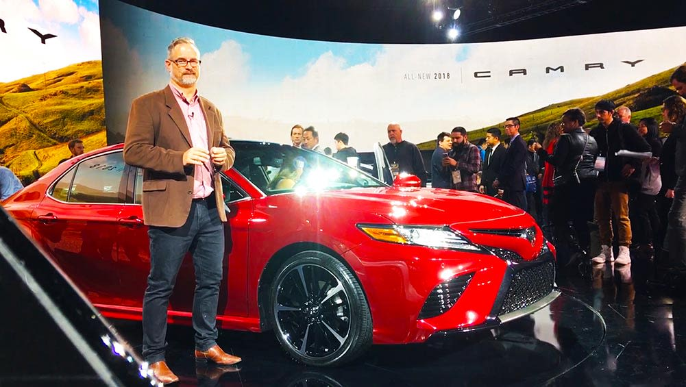 2017 Toyota Camry Revealed In Detroit | Video