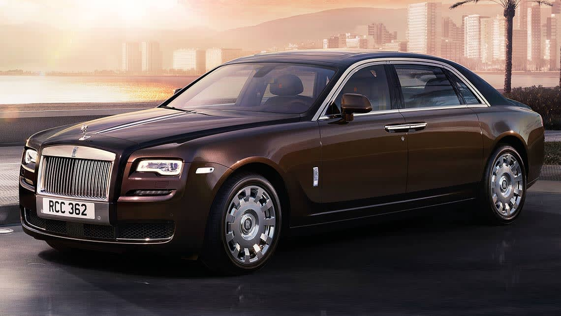 Rolls royce ghost 2015 review carsguide for Rolls royce auto