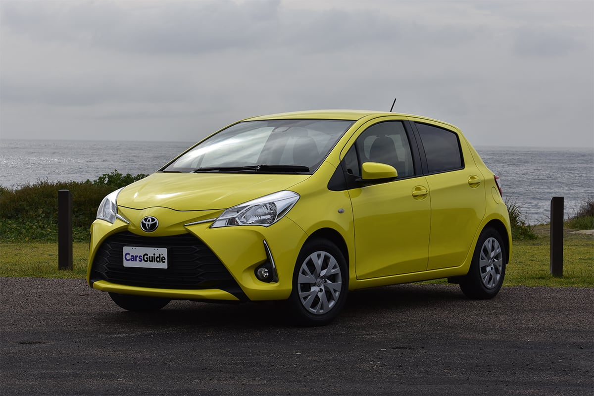 toyota yaris 2018 review sx auto carsguide. Black Bedroom Furniture Sets. Home Design Ideas