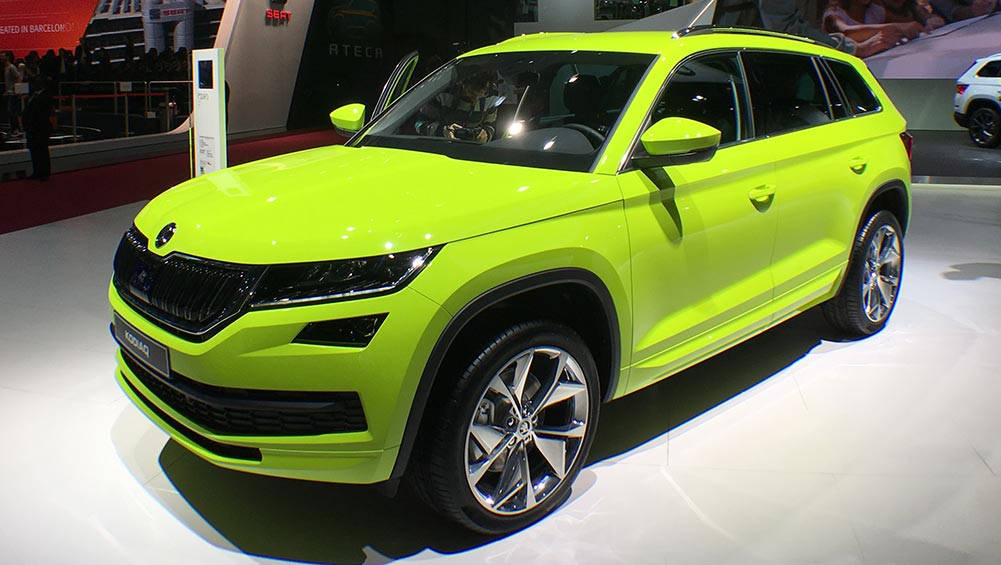 skoda kodiaq rs suv on the cards car news carsguide. Black Bedroom Furniture Sets. Home Design Ideas