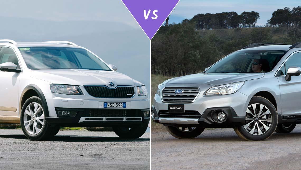 Subaru Forester Vs Outback >> Skoda Octavia Scout vs Subaru Outback Review | CarsGuide