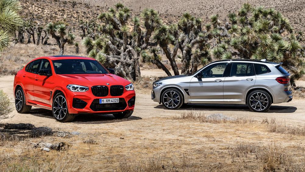 BMW X3 M, X4 M 2019 revealed