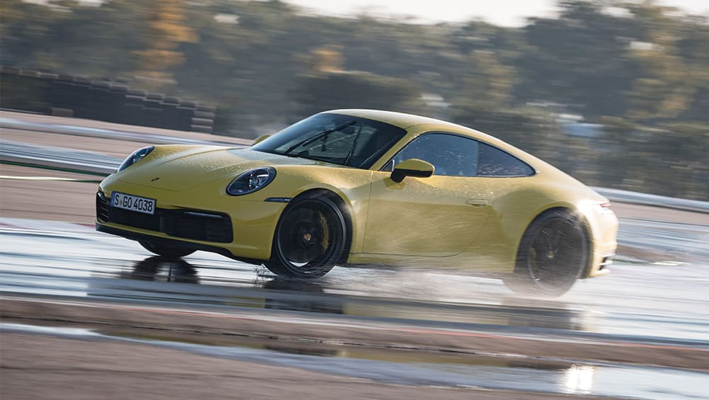 Porsche 911 2019: Wet Mode proves Porsche knows customers can't drive