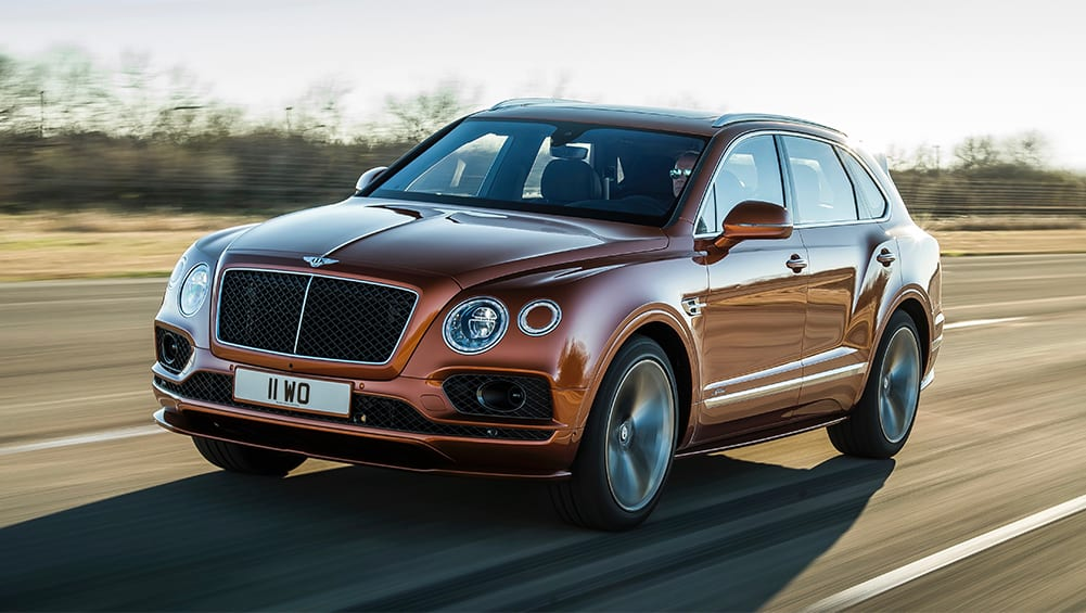 Bentley Bentayga Speed 2019 claimed as world's fastest SUV