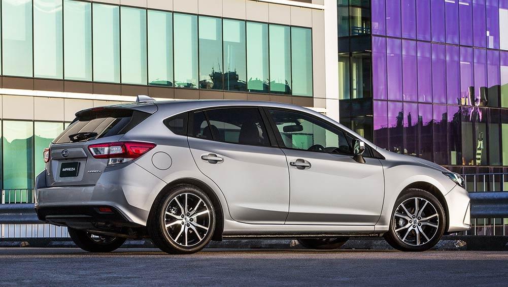 Subaru Impreza 2 0i Hatch 2017 Review Snapshot Carsguide