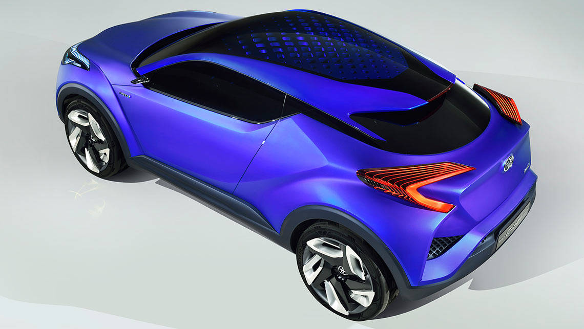 toyota c hr concept previews new sub rav4 suv car news carsguide. Black Bedroom Furniture Sets. Home Design Ideas