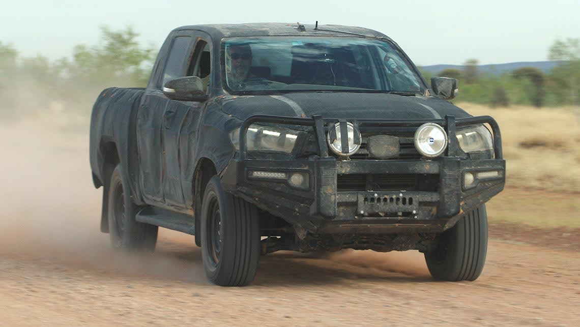 2015 Toyota Hilux And Fortuner Suv Spy Shots Car News Carsguide