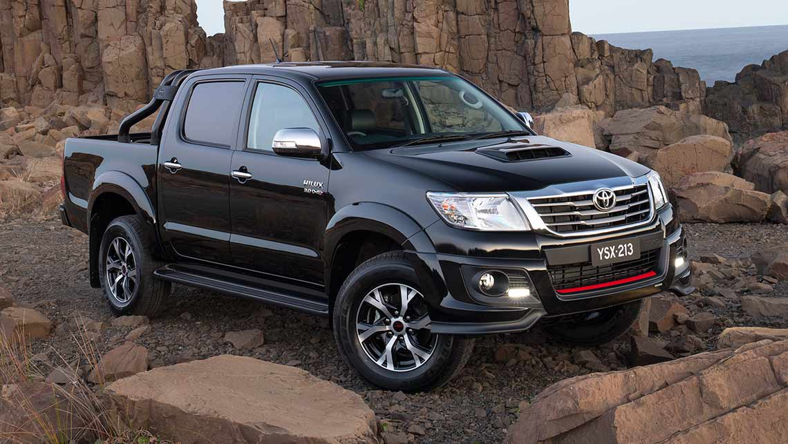 Toyota Hilux Black Edition 2014 Review Carsguide